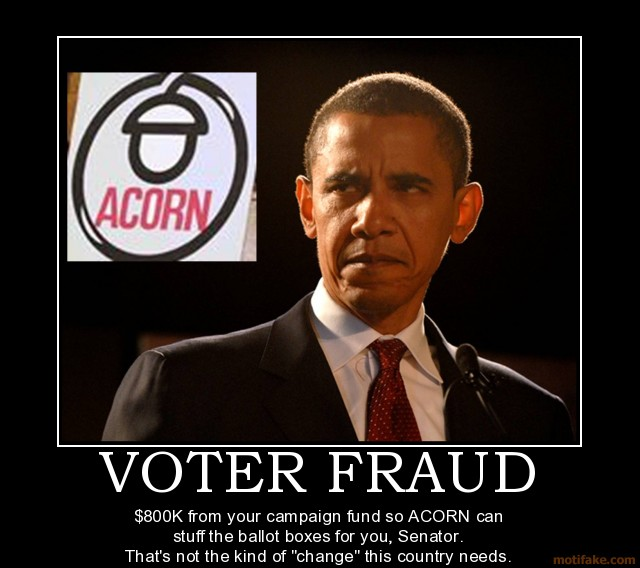 obama fraud