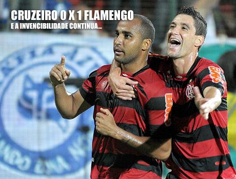 Cruzeiro 1 x 0 Flamengo, Flamengo continua invicto