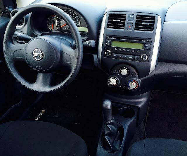 2015 Nissan Micra S interior