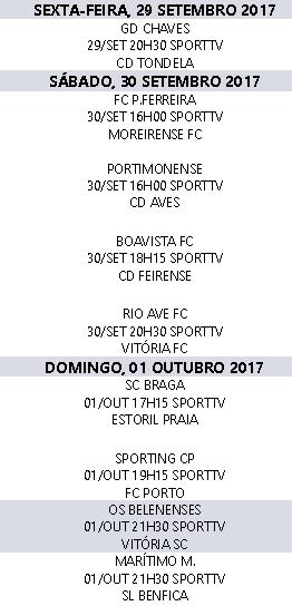 Liga Nós 2017-2018 8ºJornada