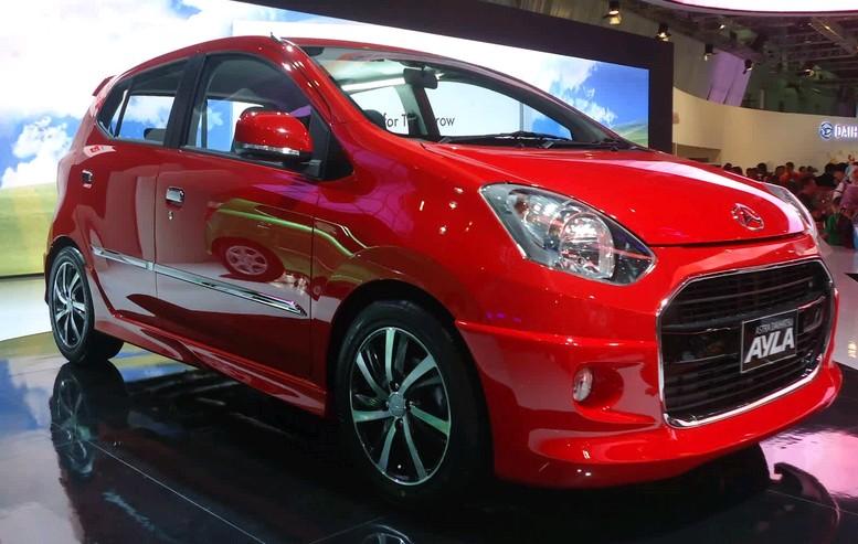 Contoh Gambar Modifikasi Elegant Mobil Daihatsu Ayla