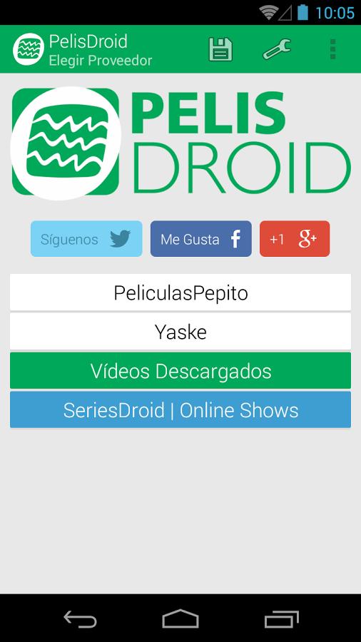 peliculas droid s