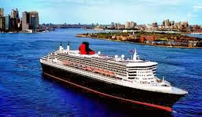 Cunard Line Queen Mary 2 Sailing From New York in 2015