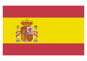 Spain Flag Logo Vector download free