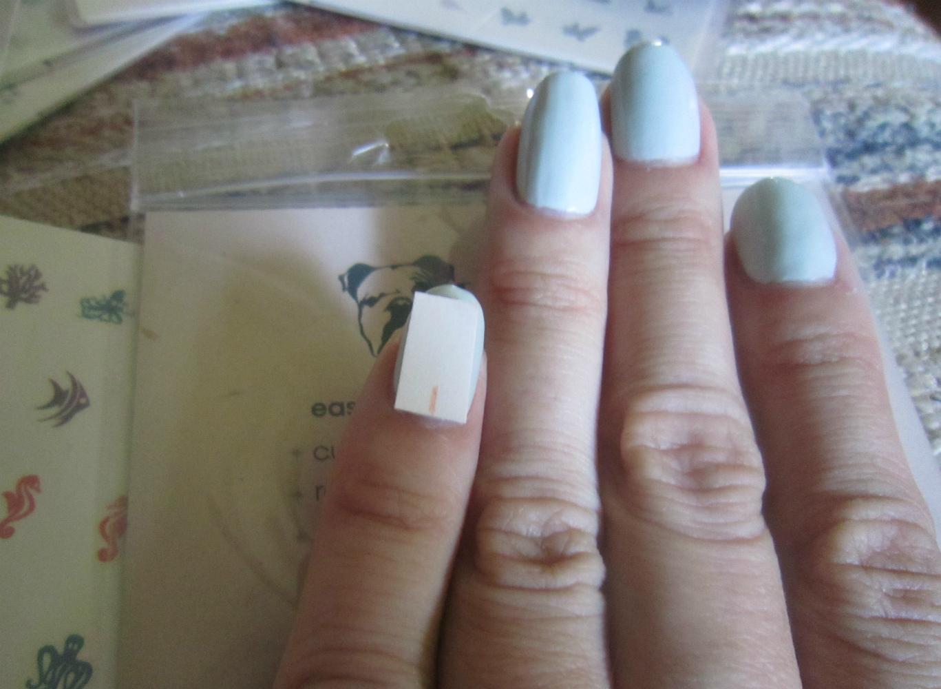 Concrete and Nail Polish: Nail Art