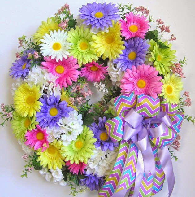 16 Welcoming Handmade Easter Wreath Ideas Do It Yourself