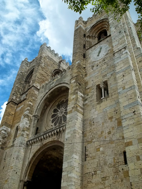 Cathedral in Lisbon on Semi-Charmed Kind of Life