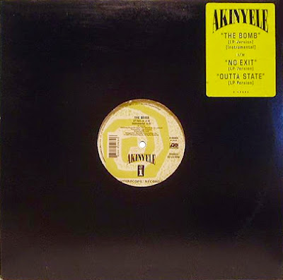 """Akinyele – The Bomb (1993) (12"""") (320 kbps)"""
