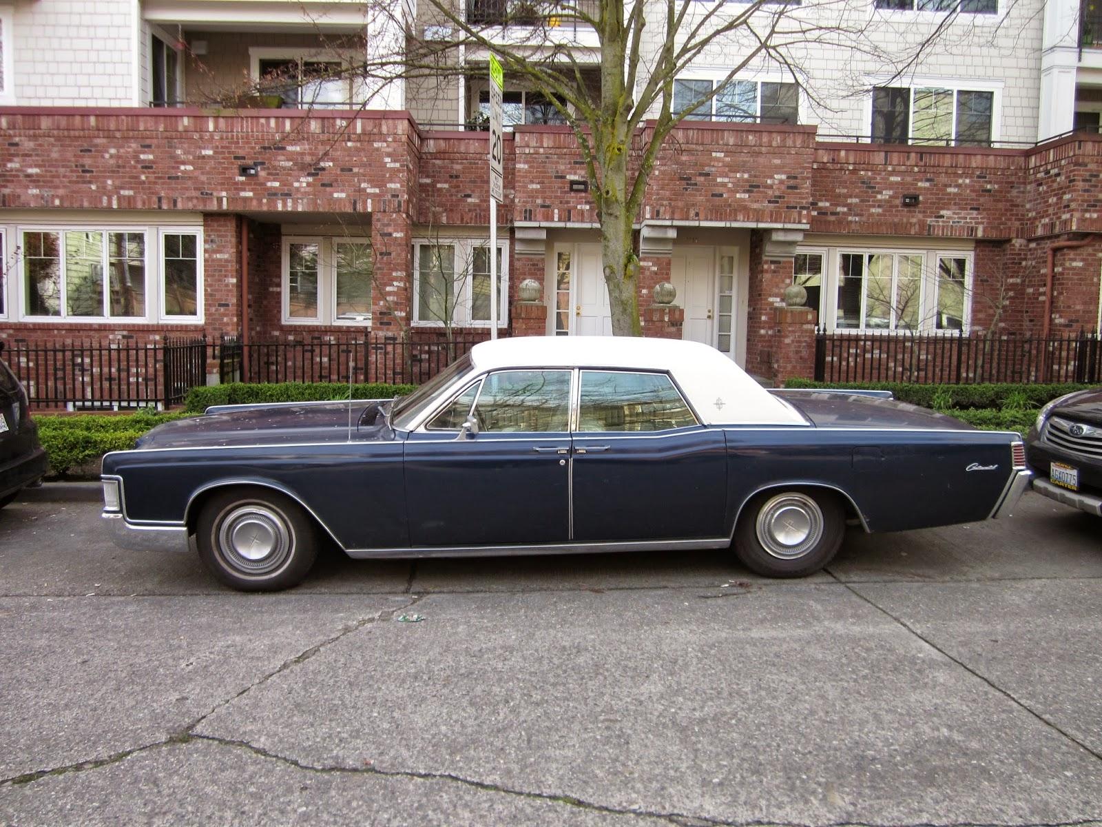 Seattle S Classics 1968 Lincoln Continental 4 Door Hardtop