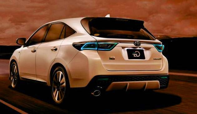 cars review concept specs price toyota harrier hybrid 2017. Black Bedroom Furniture Sets. Home Design Ideas