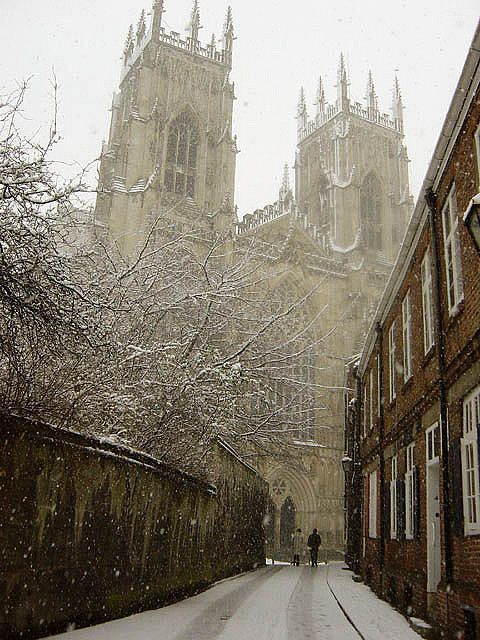 York in winter