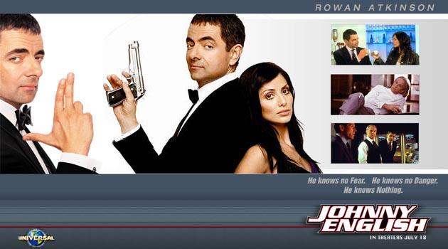 Johnny English (2003) - වෙනස්ම චරිතයක්