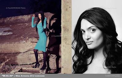 Miss Armenia Hayastan Միսս Հայաստան 2012 Julieta Hamzoyan