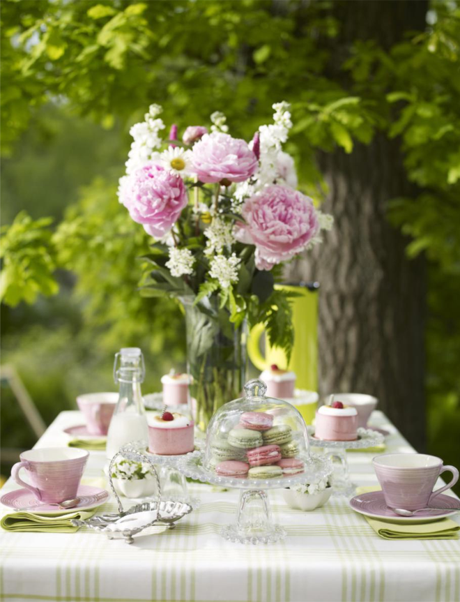 country style chic girly garden party