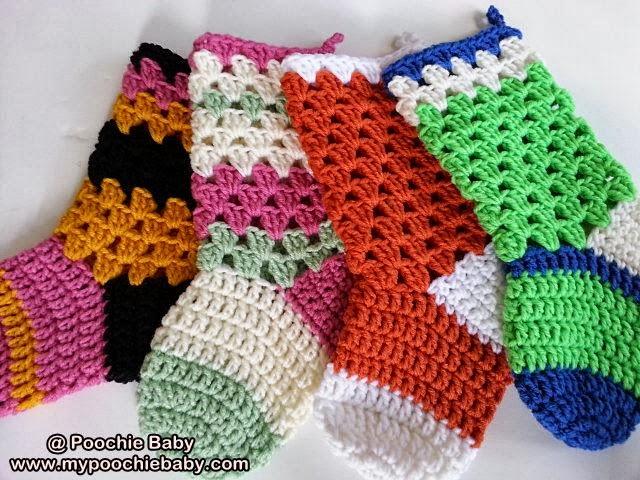 Free Dog Christmas Stocking Crochet Pattern : Crochet White Christmas Stockings Patterns Free Search ...