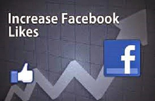 How to Increase  likes on facebook image photo