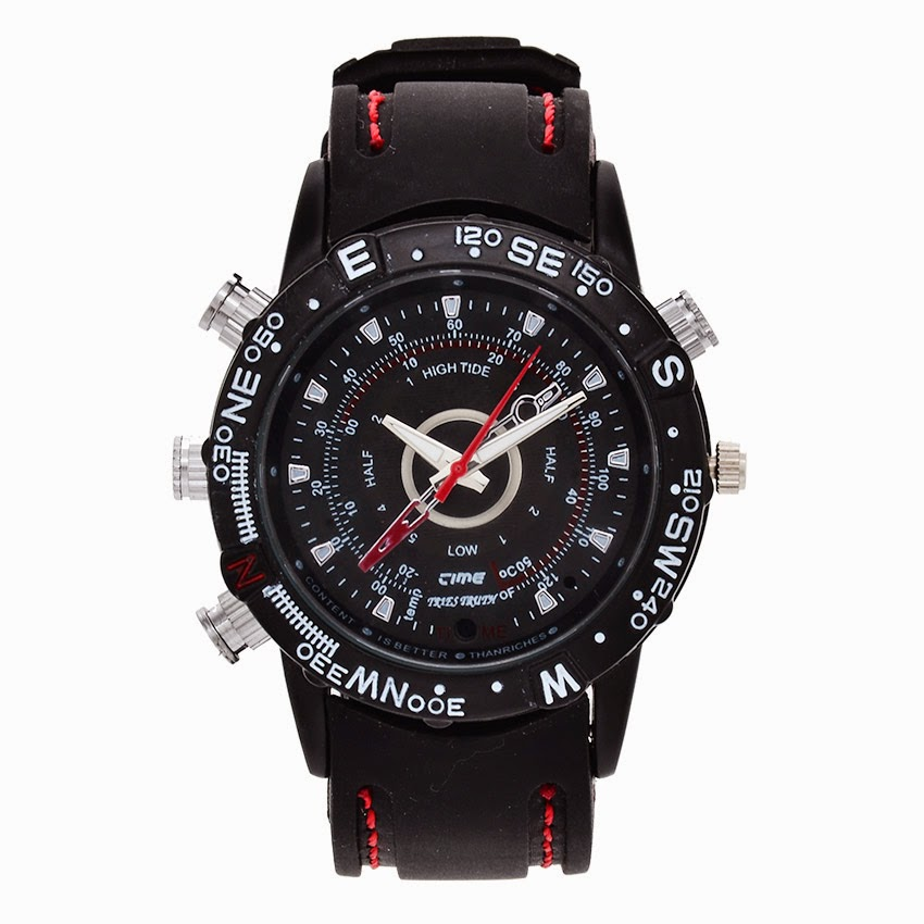 Anaconda DV-05 Watch Camera - Hitam