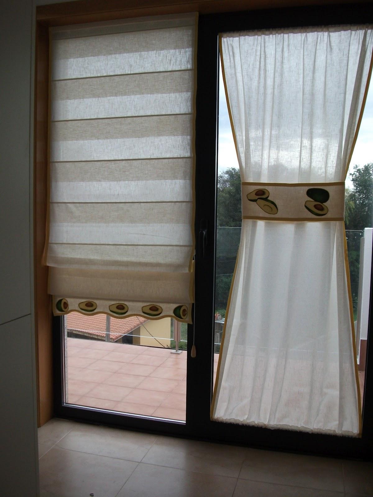 El rinconcito de las rodriguez estor de varilla acabado - Estor con cortina ...