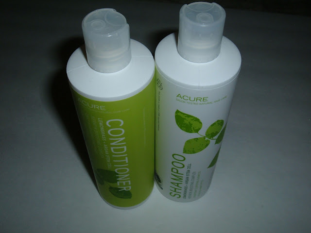 Acure shampoo and conditioner review