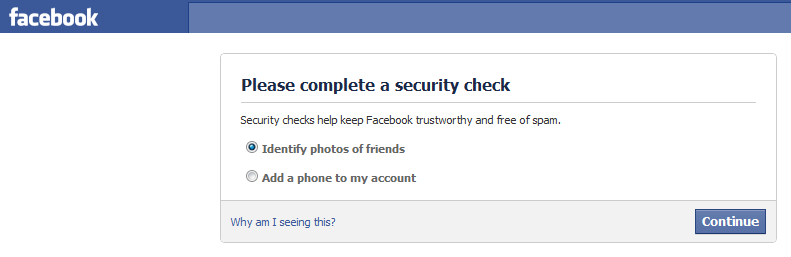 Facebook image check