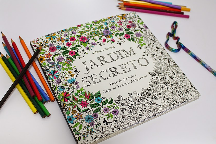 ideias para pintar livro jardim secreto : ideias para pintar livro jardim secreto:Baú da Arteira: LIVRO DE COLORIR PARA ADULTOS