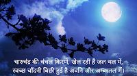 हिंदी कविता - चारुचंद्र की चंचल किरणें (Hindi Poem - Charu Chandra Ki Chanchal Kirne)