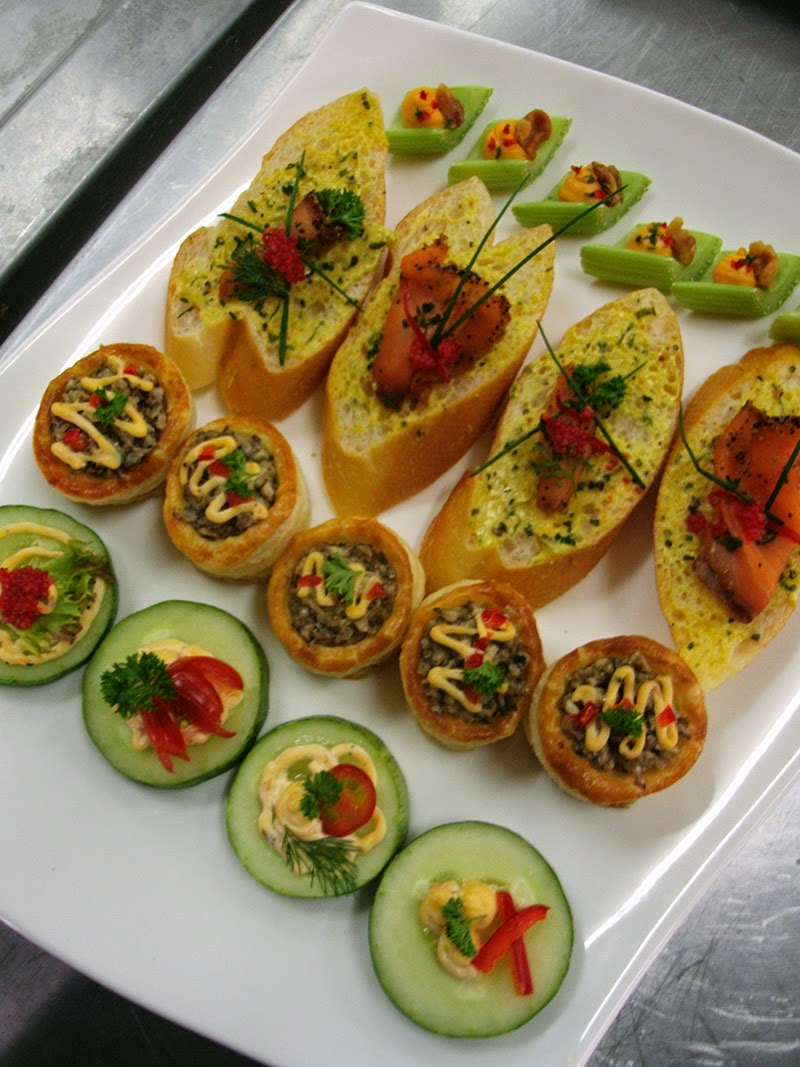 Seni kulinari kolej vokasional ert azizah canapes varieties for Types of canape