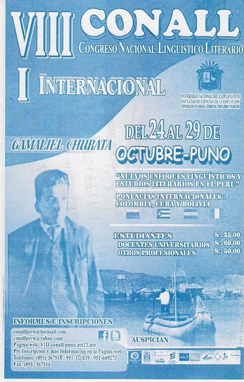VIII CONALL-2011-PUNO