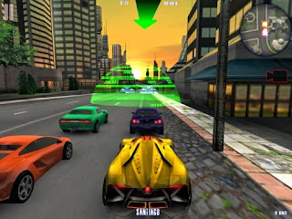 Screenshots of the Midtown crazy race for Android tablet, phone.