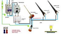 como conectar termo electrico