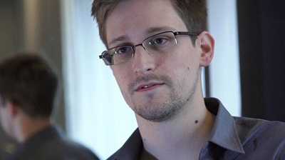 American whistle-blower Edward Snowden