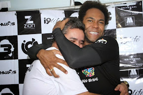 Rubão fez a diferença no Show Marcha Pra Jesus  e o Cantor Thales Roberto também reconhece.