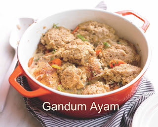 Resep Masakan Gandum Ayam
