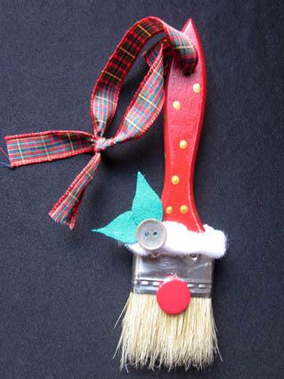 Papá Noel reciclaje