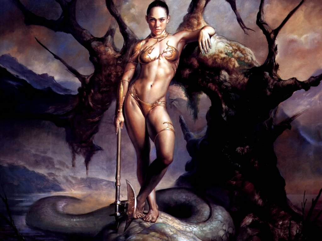 Erotic mythical fantasy art Patrick