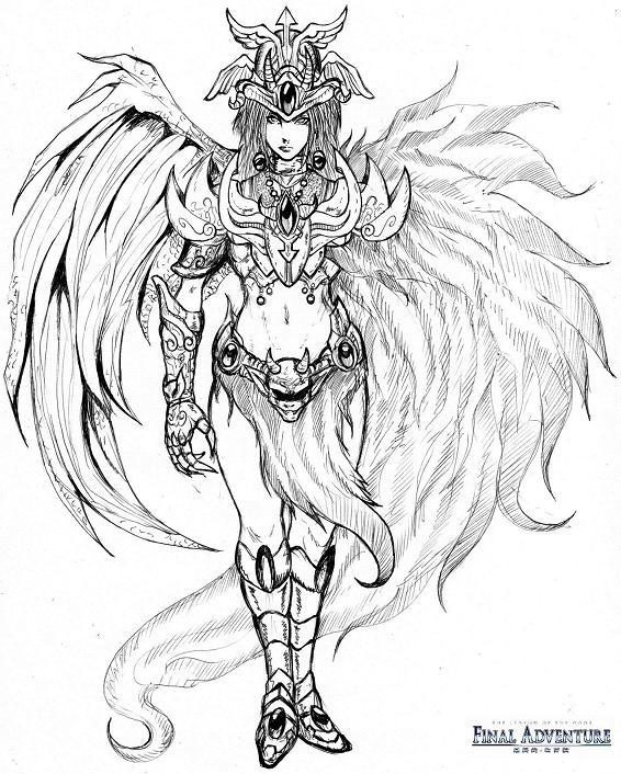 Dibujos y Plantillas para imprimir: anime