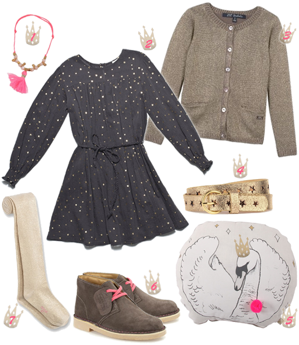 Look fille Princesse casual