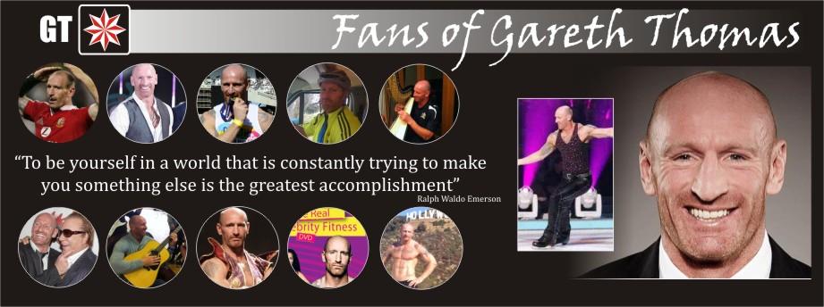 Fans of Gareth Thomas