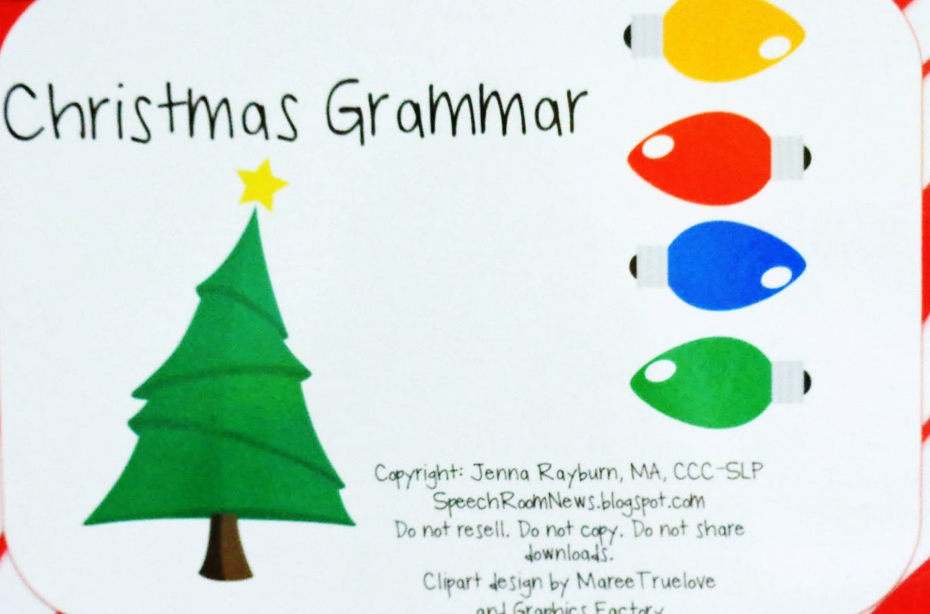Teachers Pay Teachers Review-Christmas Grammar | The Queen\'s Speech
