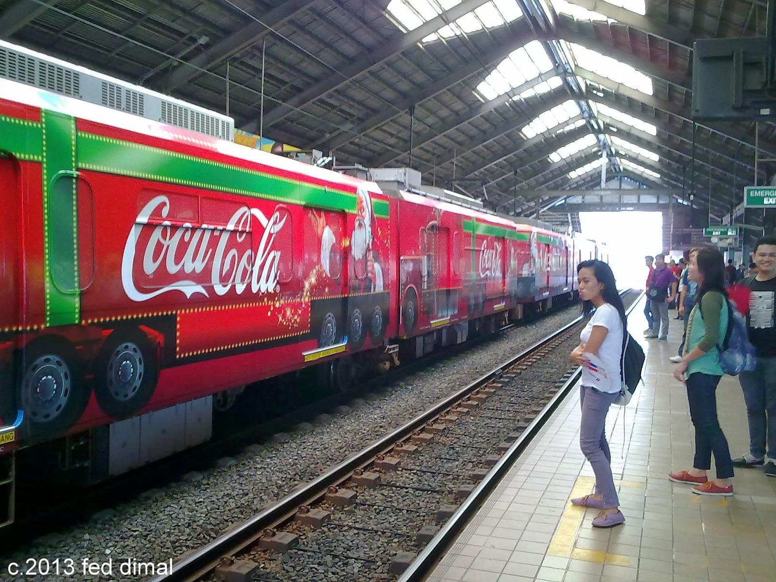 Sweet Hostage Coca Cola Train