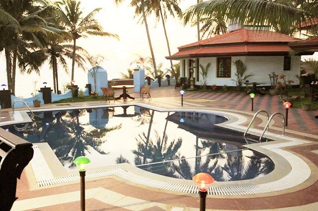 Samsara Harmony Beach Resort in Varkala, Kerala