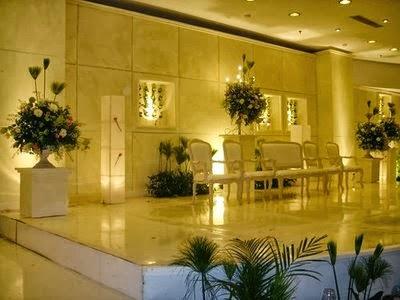 contoh gambar dekorasi pernikahan