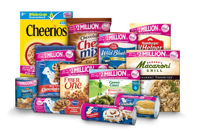 General Mills pink products