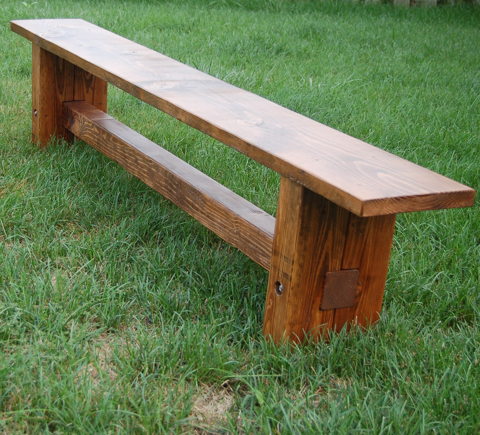 Dad built this farmhouse bench How to build a farmhouse