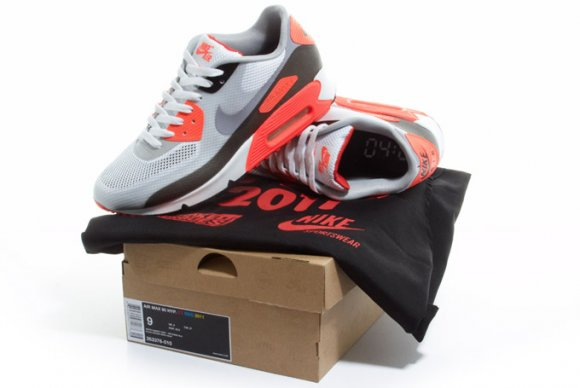 Kolejno     wy  wietlania   Najnowszy na g  243 rze - stare na dole    Nike Air Max 90 Hyperfuse Infrared Crooked Tongues