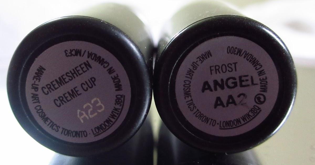 Eyeshadow Addicts Anonymous: MAC Angel vs Creme Cup ...