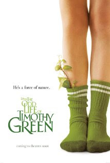 Movie poster showing a pair of legs wearing green socks with leaves sticking of the socks.