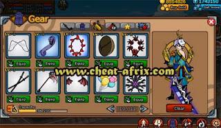 Sell Char Ninja Saga + PNS (Complete Clan Reward)