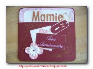 Joyeux anniversaire grand mère