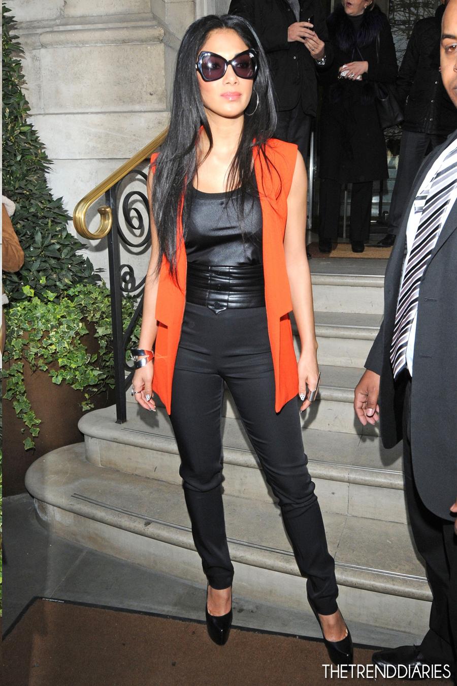 Nicole Scherzinger 2013 Street Style Nicole Scherzinger out...